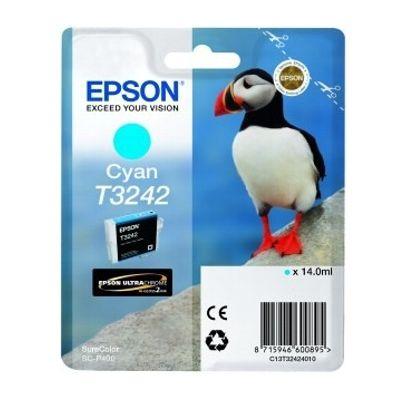Tusz oryginalny T3242 do Epson (C13T32424010 ) (Błękitny)