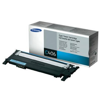 Toner oryginalny CLT-C406S do Samsung (ST984A) (Błękitny)