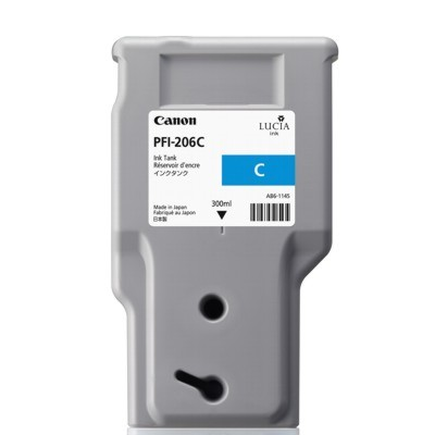 Tusz oryginalny PFI-206C do Canon (5304B001AA) (Błękitny)