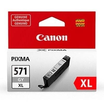Tusz oryginalny CLI-571 XL G do Canon (0335C001) (Grey)