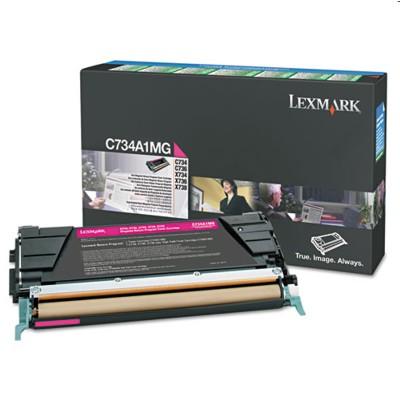 Toner oryginalny X746A1MG do Lexmark (X746A1MG) (Purpurowy)