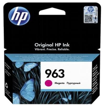 Tusz oryginalny 963 do HP (3JA24AE) (Purpurowy)
