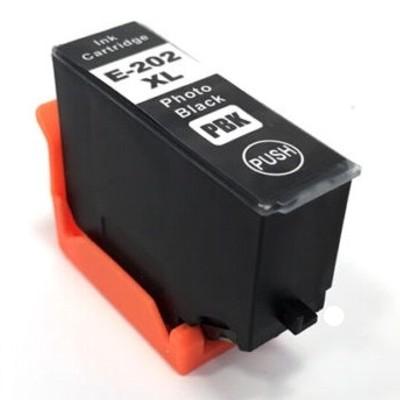 Tusz zamiennik 202 XL do Epson (C13T02H14010) (Czarny Foto)