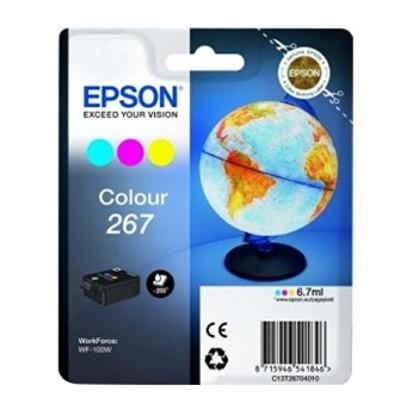 Tusz oryginalny T2670 do Epson (C13T26704010) (Kolorowy)