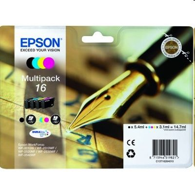 Tusze oryginalne T1626 do Epson (C13T16264010) (komplet)