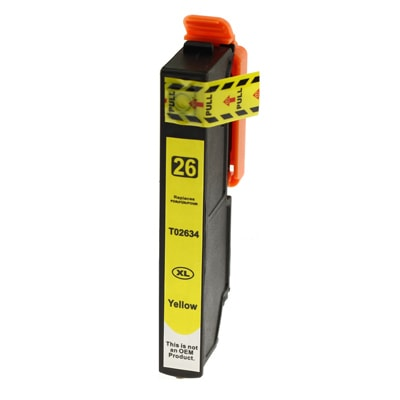 Tusz zamiennik T2634 do Epson (C13T26344010) (Żółty)