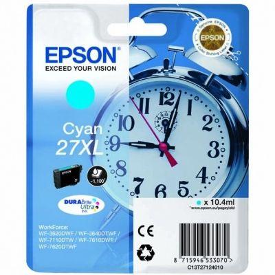 Tusz oryginalny 27xl do Epson (C13T271240) (Błękitny)