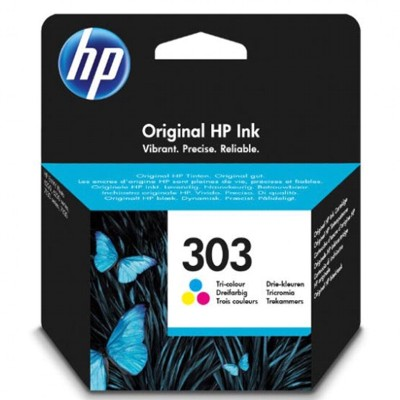 Tusz oryginalny 303 do HP (T6N01AE) (Kolorowy)