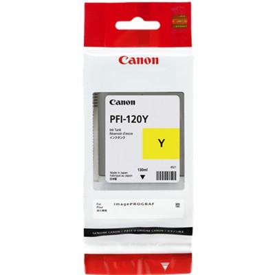 Tusz oryginalny PFI-120Y do Canon (2888C001) (Żółty)