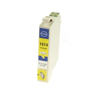 Tusz zamiennik T1814 do Epson (C13T18144010) (Żółty)
