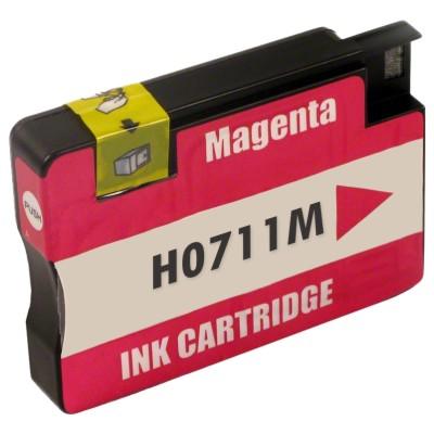 Tusz zamiennik 711 do HP (CZ131A) (Purpurowy)