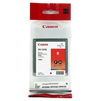 Tusz oryginalny PFI-101R do Canon (0889B001) (Czerwony)