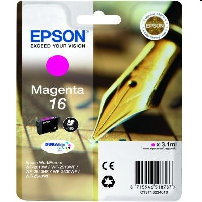 Tusz oryginalny T1623 do Epson (C13T16234010) (Purpurowy)