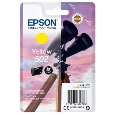 Tusz oryginalny 502 do Epson (C13T02V44010) (Żółty)