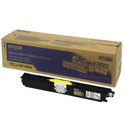 Toner oryginalny C1600/CX16 do Epson (C13S050554) (Żółty)