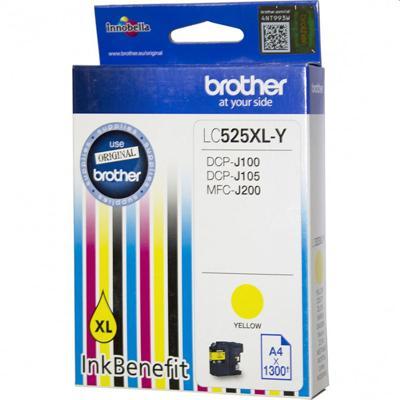 Tusz oryginalny LC-525 XL Y do Brother (LC525XLY) (Żółty)